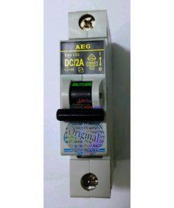 فیوز مینیاتوری AEG کلید مینیاتوری AEG DC