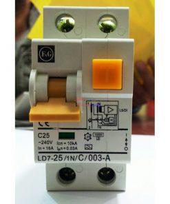 F&G LD7-25 1N C 003-A C25 کلید محافظ جان