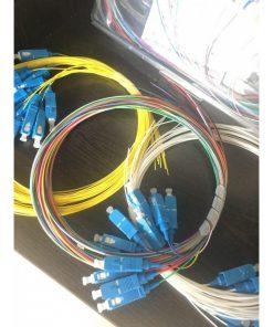 پیگتیل فیبر نوری 12 رنگ SC 0.9mm