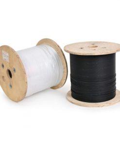 کابل دراپ تک کور دو مهار داخل ساختمان FTTH Drop Cable 1 Core indoor