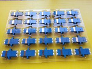 بسته بندی آداپتور فیبر نوری LC-LC داپلکس