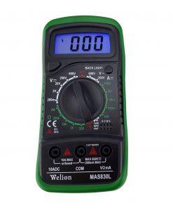 مولتی متر دیجیتال ویلیون مدل MAS830L
