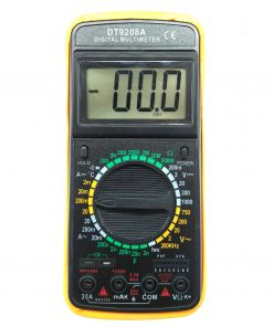 مولتی متر دیجیتال مدل 9208A